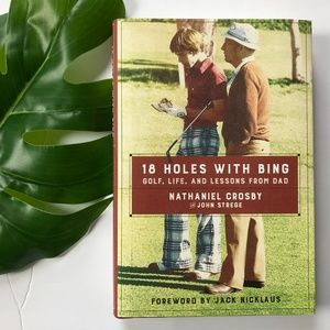 18 Holes With Bing, Golf Book, Bing Crosby